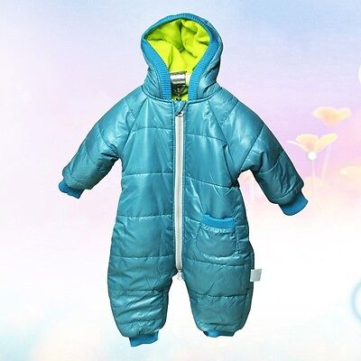 VERDE INVERNO BAMBINO BODY tutina vestito tuta da neve tuta giacca