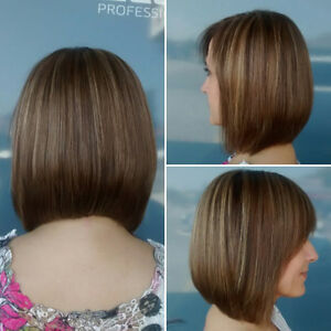 Hair styling & cutting by supervised apprentice