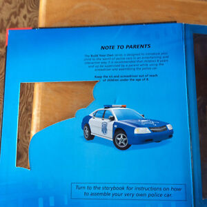 BUILD YOUR OWN POLICE CAR 2008 BY PHIDAL PUBLISHING NEW Gatineau Ottawa / Gatineau Area image 5