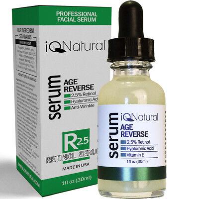 Organic Active Collagen Repair - RETINOL Vitamin A Acne Anti Aging Facial Serum