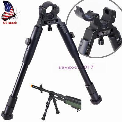 "9-12/"" Steel Tactical Bipod Ski Feet Pan Tilt Rifle Hunting Mount Spring Gun Hunt"