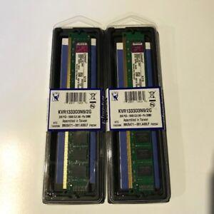 Mémoire Kingston DDR3 4 Go (2 x 2 Go) PC3-10600 CL9 240Pin 2/2