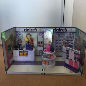 MiWorld Claires Deluxe Play Set & Photo Booth Play Set