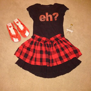 Girls Canada Outfit