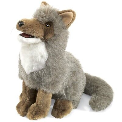 COYOTE Puppet # 2226 ~ FREE SHIPPING in USA ~ Folkmanis Puppets