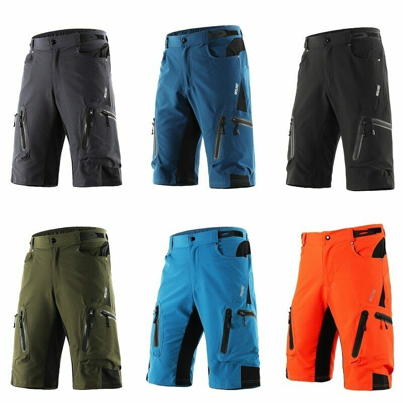 Mens MTB Mountain Bike Short Bicycle Cycling Riding Shorts W