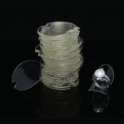 Wholesale Lots New 50pcs Plastic Jewelry Display Rings Holder