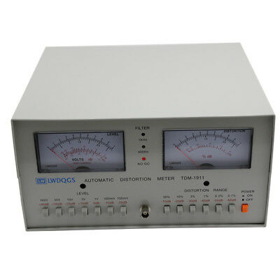 110-220v Automatic Distortion Meter 0.01 - 30 Audio Distortion Meter Tdm-1911