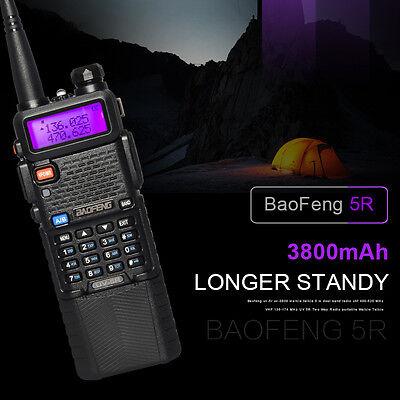 Baofeng UV-5R Walkie Talkies Two-way Radio Dual Band VHF/UHF Long Range US Stock