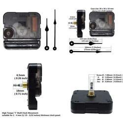Include Hands Quartz DIY Wall Clock Movement Mechanism Battery Operated DIY Repa
