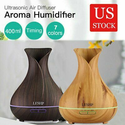 Air Aroma Essential Oil Diffuser LED Ultrasonic Aromatherapy Humidifier (Best Ultrasonic Aromatherapy Diffuser)