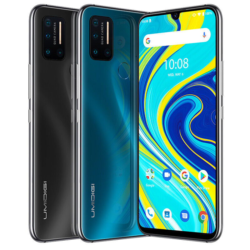 """Android Phone - UMIDIGI A7 Pro 4GB+64GB Smartphone 6.3"""" Unlocked Cell Phone Dual SIM Android 10"""