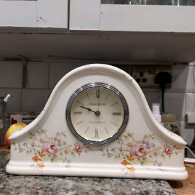 Vintage Grayshott porcelain clock