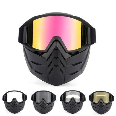 Motorcycle Motocross Face Mask Goggles ATV MX Off-road Dirt Bike Eyewear Glasses Atv Off Road Goggles