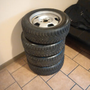 Winter Tires on Rims. Great Condition! Only used one winter.