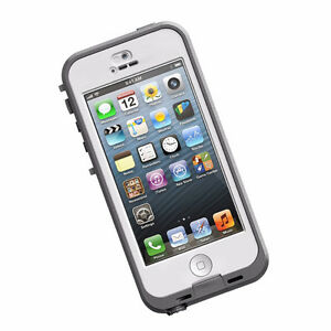 iPhone 5C 16 GB (White) with Lifeproof Case