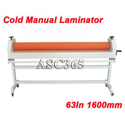 Intbuying 63 All Steel Manual Mounting Format Cold Laminator Laminating Machine