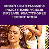 Indian Head Massage & Ayurvedic Chair Massage Certification