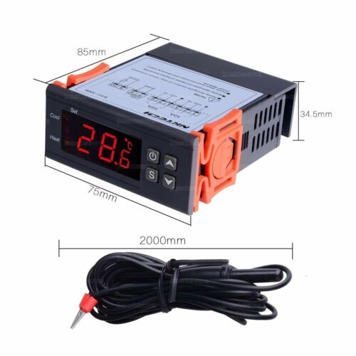 Digital STC-1000 All-Purpose Temperature Controller Thermostat With Sensor BF