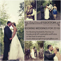 BOOKING WEDDINGS FOR 2016!