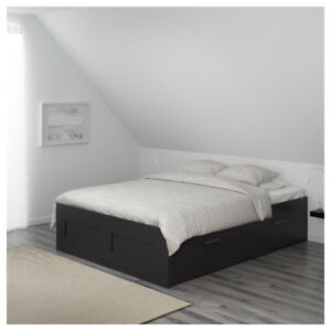 Selling Ikea BRIMNES Bed Frame Just 1 year old