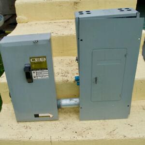 Panneau électrique 200 Ampères 240 Volts CEB / Federal Pioneer