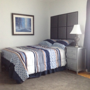 FURNISHED ROOMS AIRPORT DORVAL, FREE WIFI & PARKING