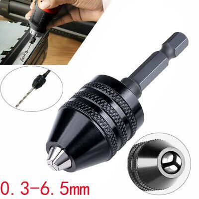 14inch Keyless Chuck Conversion Hex Shank Adapter Drill Bit Quick Change Driver