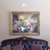 Justice of the peace 100% HAND OIL PAINTED  Academic-Classicism