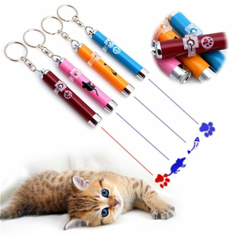 Cat Laser Toy Creative Interactive Cats Toys Pet LED Laser C