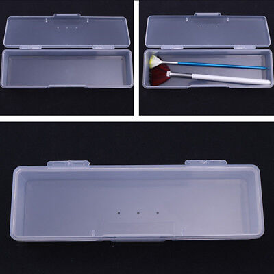 Plastic Storage Box For Nail Art Pen Container Case Tips Nail Tools