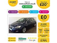 Vauxhall/Opel Astra 2.0CDTi 16v FROM £20 PER WEEK