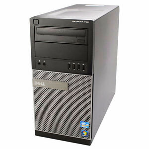 Dell Quad Core Desktop Computer 500 GB HDD 8 GB Ram Win 7