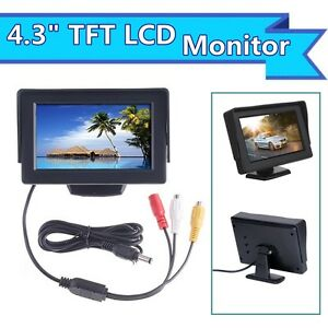 4-3-034-HD-resolution-In-car-Use-TFT-LCD-Camera-Monitor-Display-2-Video-AV-CH-Input