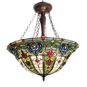 New in box Chloe Lighting Tiffany style lamp