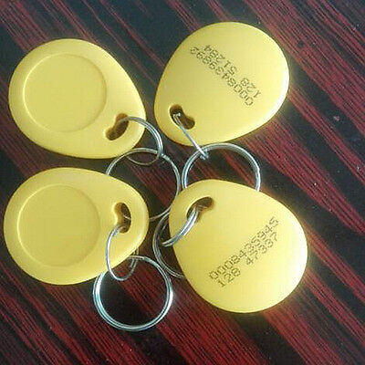 2pcs Rfid 125khz Proximity Token Tag Key Keyfobs Yit1
