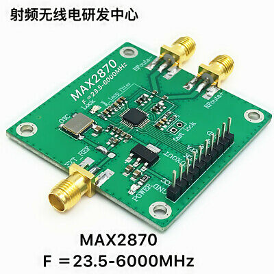 Rf Signal Generator Max2870 23.5mhz-6ghz Phase-locked Loop Pll Rf Source New