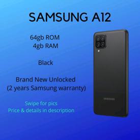 Samsung A12 NEW