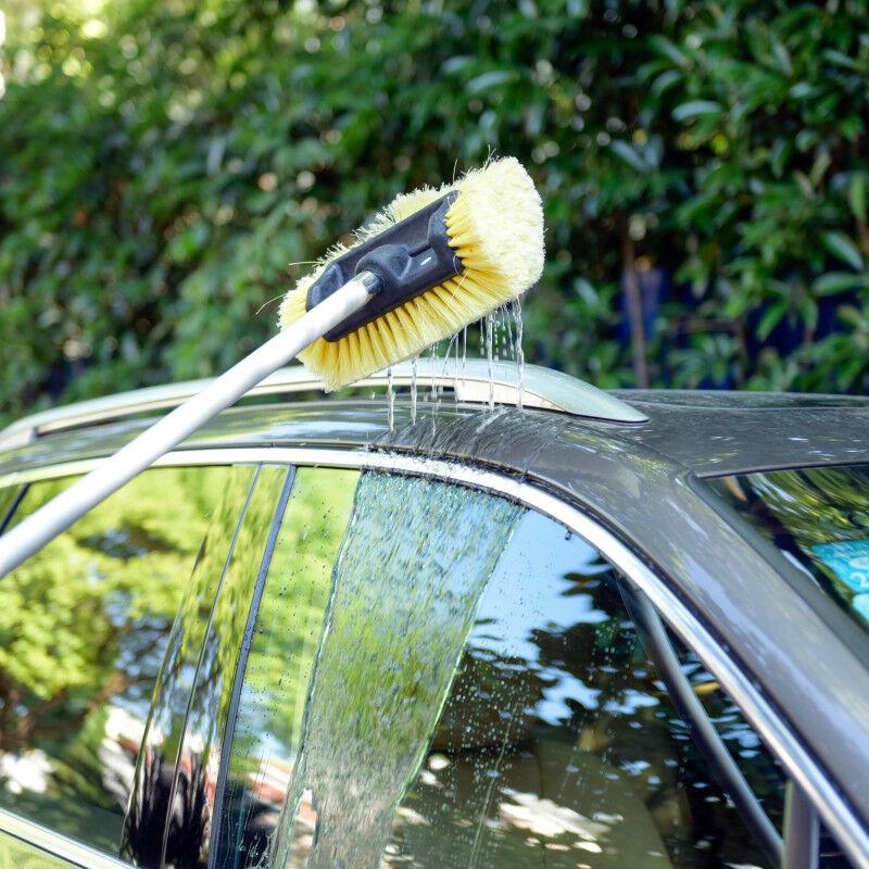 Owner Carcarez Car Wash Brush Head Super Soft Heavy-Duty Bristle Clean Truck SUV