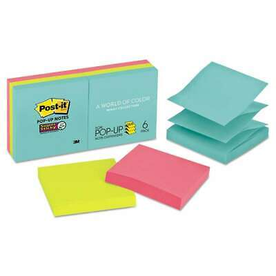 Post-it Pop-up Notes Super Sticky Pop-up 3 X 3 Note Refill Miam 051125006231