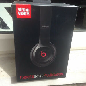 Wireless Beats Solo 2 (Black) UNOPENED Best Offer