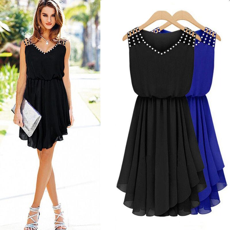 Фасоны платьев из черного шифона