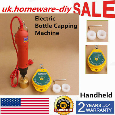 Handheld Electric Bottle Capping Machine Screw Capper Sealing Machine Usa Ship