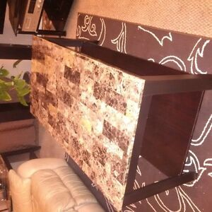 coffee table and Two side tables Kitchener / Waterloo Kitchener Area image 1