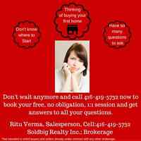 1:1 Free, No Obligation session for First time home buyers.