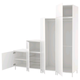 IKEA White Platsa Wardrobe