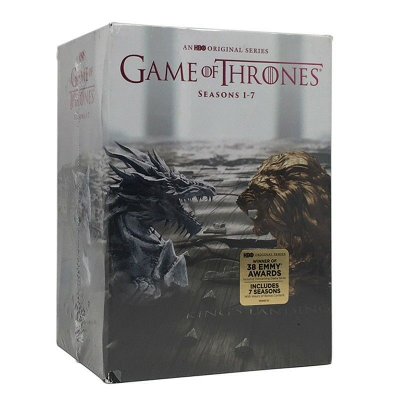 Game of Thrones Seasons One-Seven Boxset 1-7 (DVD 2017, 34-Disc) 1 2 3 4 5 6 7
