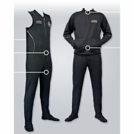 O Three Drysuit, designed for comfort in temperate to extreme cold water.
