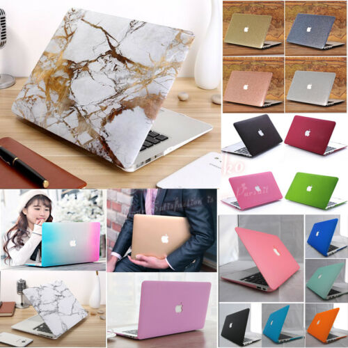 28-Color Marble Glossy Matte Case+Keyboard Skin for MacBook