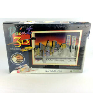 Wrebbit New York Paint 3D Twin Towers Pre 9/11 World Trade Cente